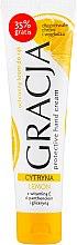 Духи, Парфюмерия, косметика Защитный крем для рук с экстрактом лимона - Miraculum Gracja Lemon Hand Cream