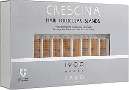 Духи, Парфюмерия, косметика Лосьон для стимуляции роста волос для женщин 1900 - Crescina Hair Follicular Island 1900 Woman