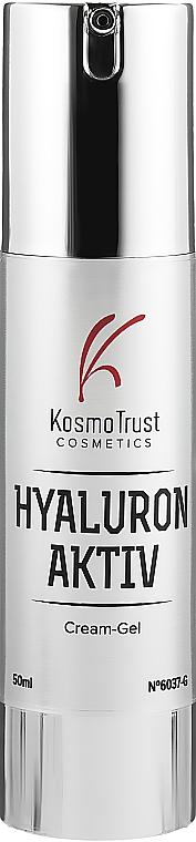 Крем для лица с низкомолекулярной гиалуроновой кислотой - KosmoTrust Cosmetics Hyaluron Aktiv Cream-Gel