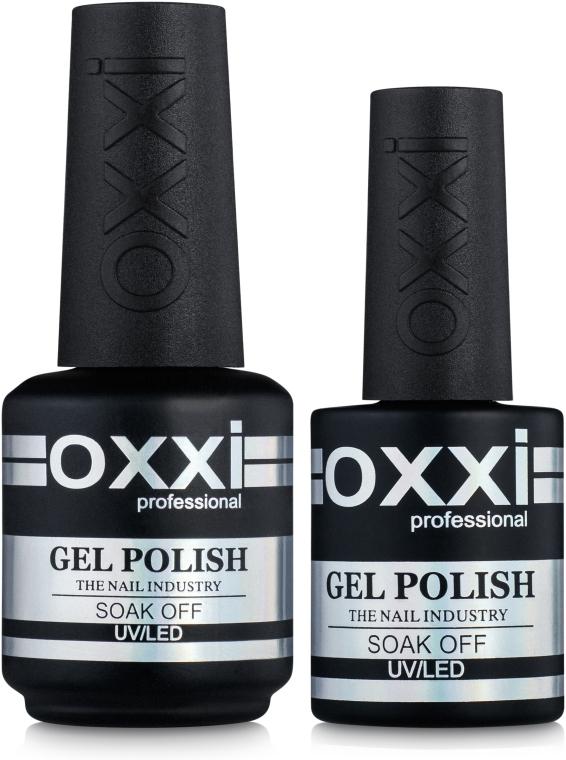 Топ для гель-лака без липкого слоя - Oxxi Professional No-Wipe Crystal