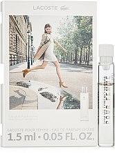 Духи, Парфюмерия, косметика Lacoste Pour Femme Legere - Парфюмированная вода (пробник)