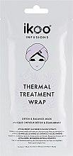 "Парфумерія, косметика Термальна шапка-маска ""Детокс і баланс"" - Ikoo Thermal Treatment Wrap"