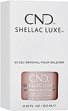 Духи, Парфюмерия, косметика Гель-лак для ногтей двухфазный - CND Shellac Luxe