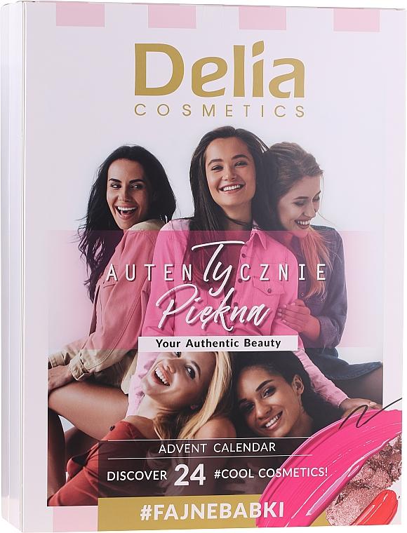 Набор для макияжа - Delia Cosmetics Advent Calendar 2020/2021