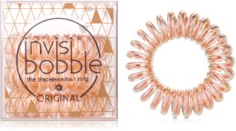 Духи, Парфюмерия, косметика Резинка для волос - Invisibobble Original Bronze Me Pretty