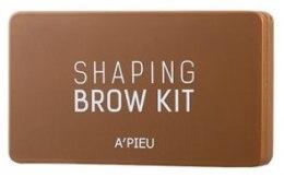 Духи, Парфюмерия, косметика Палетка для макияжа бровей - A'pieu Shaping Brow Gel Kit