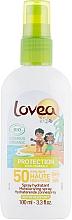 Духи, Парфюмерия, косметика Солнцезащитный спрей для детей - Lovea Protection Bio Sun Spray Kids SPF50