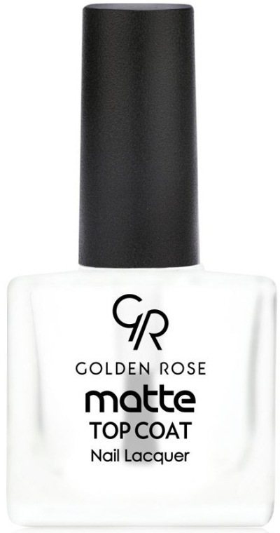 Матовое покрытие для лака - Golden Rose Matte Top Coatt