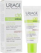 Духи, Парфюмерия, косметика Тональный универсальный уход - Uriage Hyséac 3-Regul Global Tinted Skincare SPF30