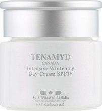 Интенсивно отбеливающий дневной крем с SPF15 для кожи с пигментацией - Tenamyd Canada White Lagoon Intensive Whitening Day Cream SPF15 — фото N2