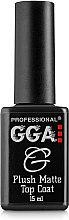 Парфумерія, косметика Матовий топ для гель-лаку - GGA Professional Plush Matte Top Coat
