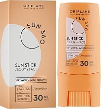 Духи, Парфюмерия, косметика Солнцезащитный стик для лица и тела - Oriflame Sun 360 Sun Stick SPF 30