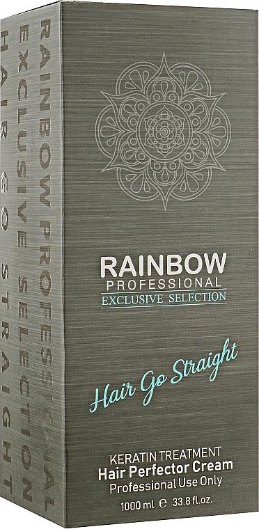 Кератин для выпрямления волос - Rainbow Professional Exclusive Hair Go Straight Professional Use Only
