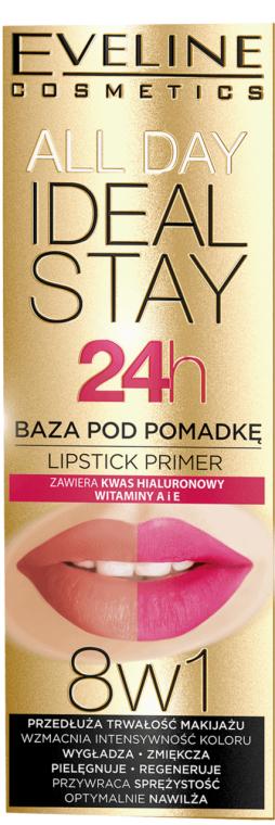 База под помаду 8в1 - Eveline Cosmetics All Day Ideal Stay