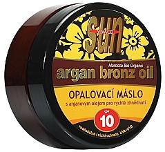 Духи, Парфюмерия, косметика Масло для загара - Vivaco Sun Argan Bronz Oil SPF 10