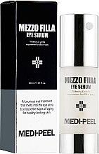 Духи, Парфюмерия, косметика Омолаживающая сыворотка для век с пептидами - Medi Peel Mezzo Filla Eye Serum