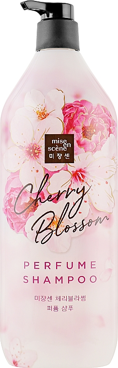 Укрепляющий шампунь с экстрактом сакуры - Mise En Scene Cherry Blossom Perfume Shampoo