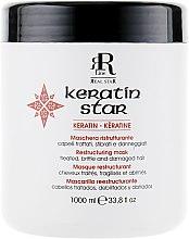 Духи, Парфюмерия, косметика Маска для реконструкции волос - RR Line Keratin Star