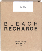 Духи, Парфюмерия, косметика Беспылевая осветляющая пудра, белая - Previa Bleach (запасная упаковка)