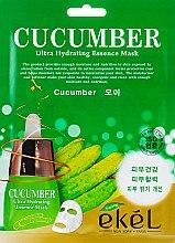Духи, Парфюмерия, косметика Тканевая маска с экстрактом огурца - Ekel Cucumber Mask