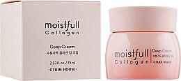 Духи, Парфюмерия, косметика Крем для лица увлажняющий с коллагеном - Etude House Moistfull Collagen Deep Cream