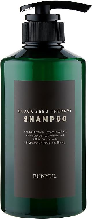 Шампунь с маслом черного тмина для увлажнения и мягкости волос - Eunyul Black Seed Therapy Shampoo