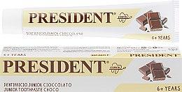 "Духи, Парфюмерия, косметика Детская зубная паста ""Clinical Junior"", шоколад - PresiDENT Junior Toothpaste Choco"