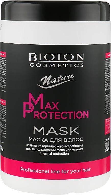 Маска для волос - Bioton Cosmetics Nature Professional Max Protection Mask