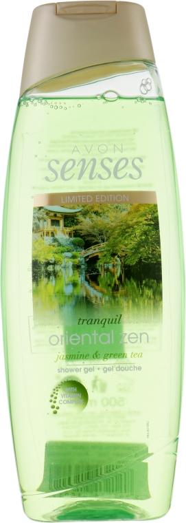 "Гель для душа ""Jasmine & Green Tea"" - Avon Senses Shower Gel"