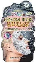 """Духи, Парфюмерия, косметика Пузырьковая маска для лица """"Древесный уголь"""" - 7th Heaven Charcoal Detox Bubble Mask"""