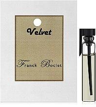 Духи, Парфюмерия, косметика Franck Boclet Velvet - Духи (пробник)