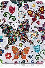 Духи, Парфюмерия, косметика Зеркало косметическое длинное, разноцветные бабочки - Lily Cosmetics