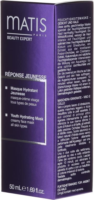 Маска увлажняющая - Matis Reponse Jeunesse Youth Hydrating Mask