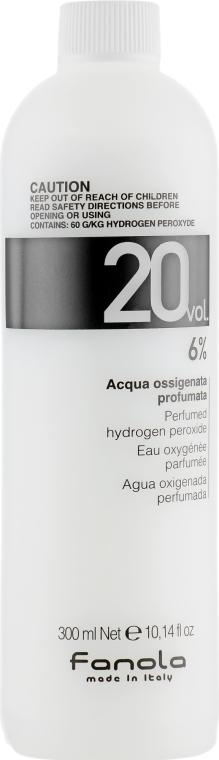 Окислитель 20 vol 6% - Fanola Perfumed Hydrogen Peroxide Hair Oxidant
