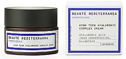 Духи, Парфюмерия, косметика Крем для лица с гиалуроновой кислотой - Beaute Mediterranea High Tech Hyaluronic Complex Cream