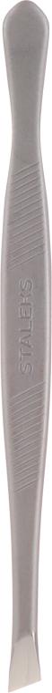 Пинцет для бровей, широкие скошенные кромки TC-10/3 - Staleks Classic 10 Type 3