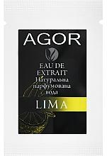 Парфумерія, косметика Agor Lima - Парфумована вода (пробник)