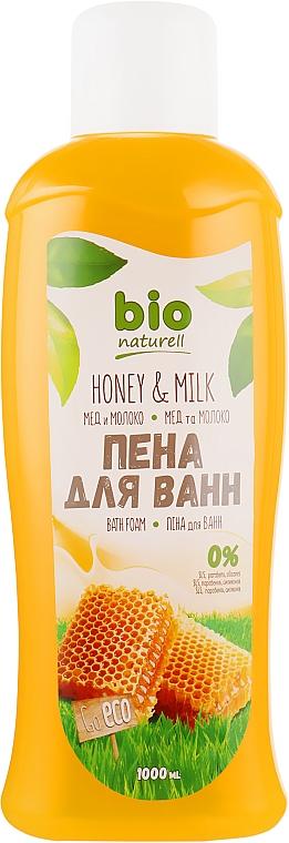"""Пена для ванн """"Мед и молоко"""" - Bio Naturell"""
