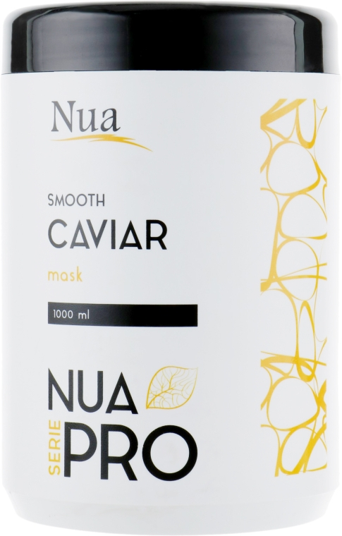 Маска для волос разглаживающая с икрой - Nua Pro Smooth with Caviar Mask