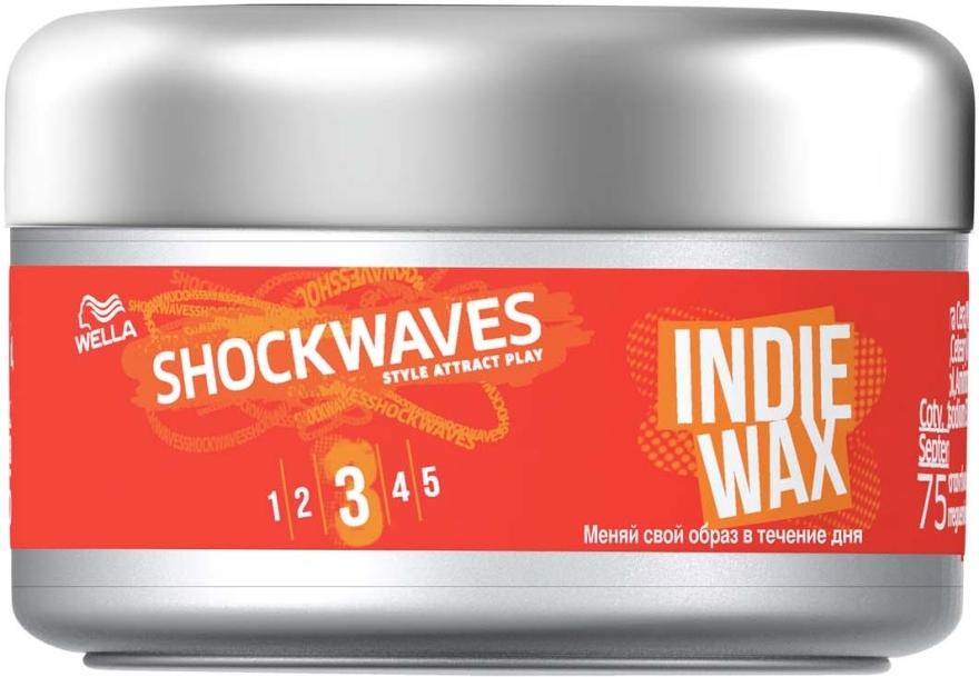 Воск для укладки волос - Wella ShockWaves Indie Wax