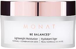 Духи, Парфюмерия, косметика Легкий увлажняющий крем для лица - Monat Be Balanced Lightweight Moisturizer