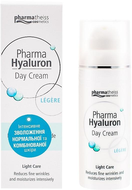 Крем дневной уходовый для лица - Pharma Hyaluron Pharmatheiss Cosmetics Daycare