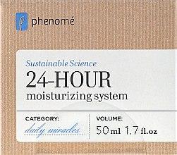 Духи, Парфюмерия, косметика Крем 24 часового действия, увлажняющий - Phenome 24 Hour Moisturizing Sistem Cream
