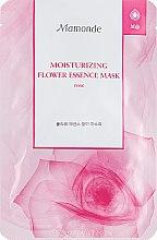 Духи, Парфюмерия, косметика Увлажняющая маска c эссенцией розы - Mamonde Moisturizing Flower Essence Mask Rose