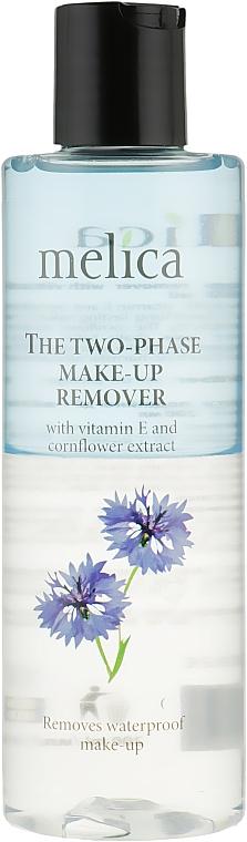 Средство для снятия макияжа с витамином Е и экстрактом василька - Melica The Two Phase Make-Up Remover