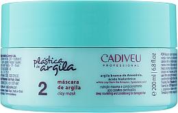 Духи, Парфюмерия, косметика Маска для восстановления волос - Cadiveu Plastica de Argila Clay Mask