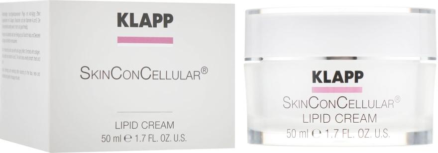 Питательный крем для лица - Klapp Skin Con Cellular Lipid Cream