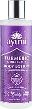 Духи, Парфюмерия, косметика Лосьон для тела - Ayumi Turmeric & Shea Butter Body Lotion