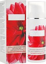 Парфумерія, косметика 24-годинний зволожувальний крем з алое вера і гіалуроновою кислотою - Ryor 24-hour Moisturizing Cream Aloe Vera