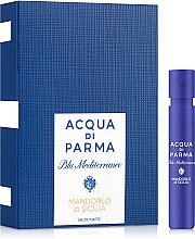 Духи, Парфюмерия, косметика Acqua Di Parma Blu Mediterraneo Mandorlo Di Sicilia - Туалетная вода (пробник)